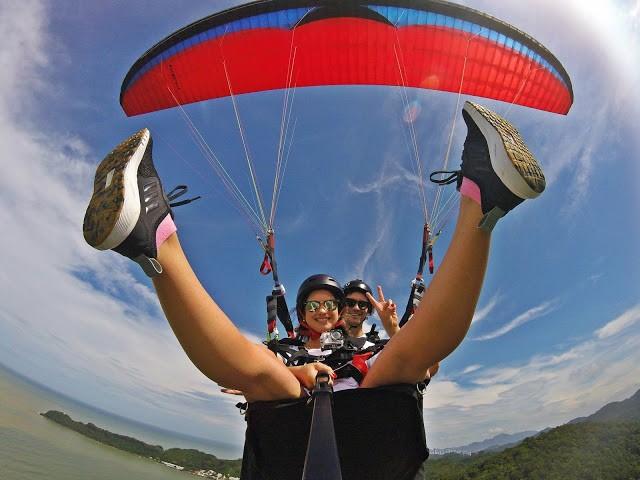 como voar de parapente - Flyco Parapente - Foi Mágico E Olha Que Jamais Pensei Em Voar Assim