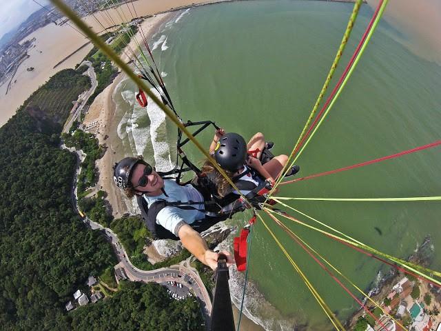 voo de parapente em itajai - Flyco Parapente - Foi Mágico E Olha Que Jamais Pensei Em Voar Assim