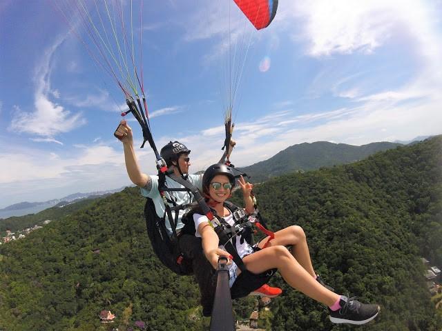 voo de parapente em itajai 3 - Flyco Parapente - Foi Mágico E Olha Que Jamais Pensei Em Voar Assim