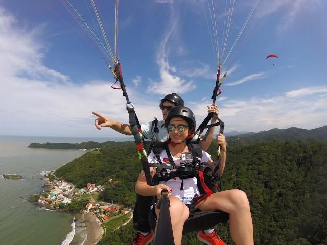 voo de parapente em itajai 6 - Flyco Parapente - Foi Mágico E Olha Que Jamais Pensei Em Voar Assim