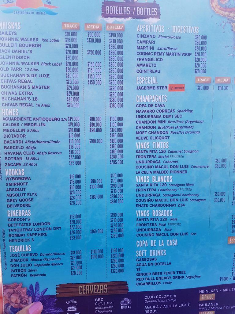 cafe de mar cartagena