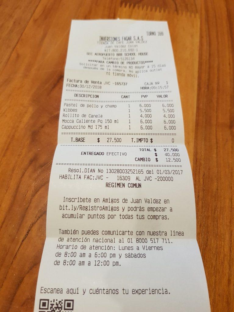 juan valdez san andres 768x1024 - Onde Comer Em San Andres? 10 Sugestões Infalíveis De Restaurantes Com Fotos e Valores