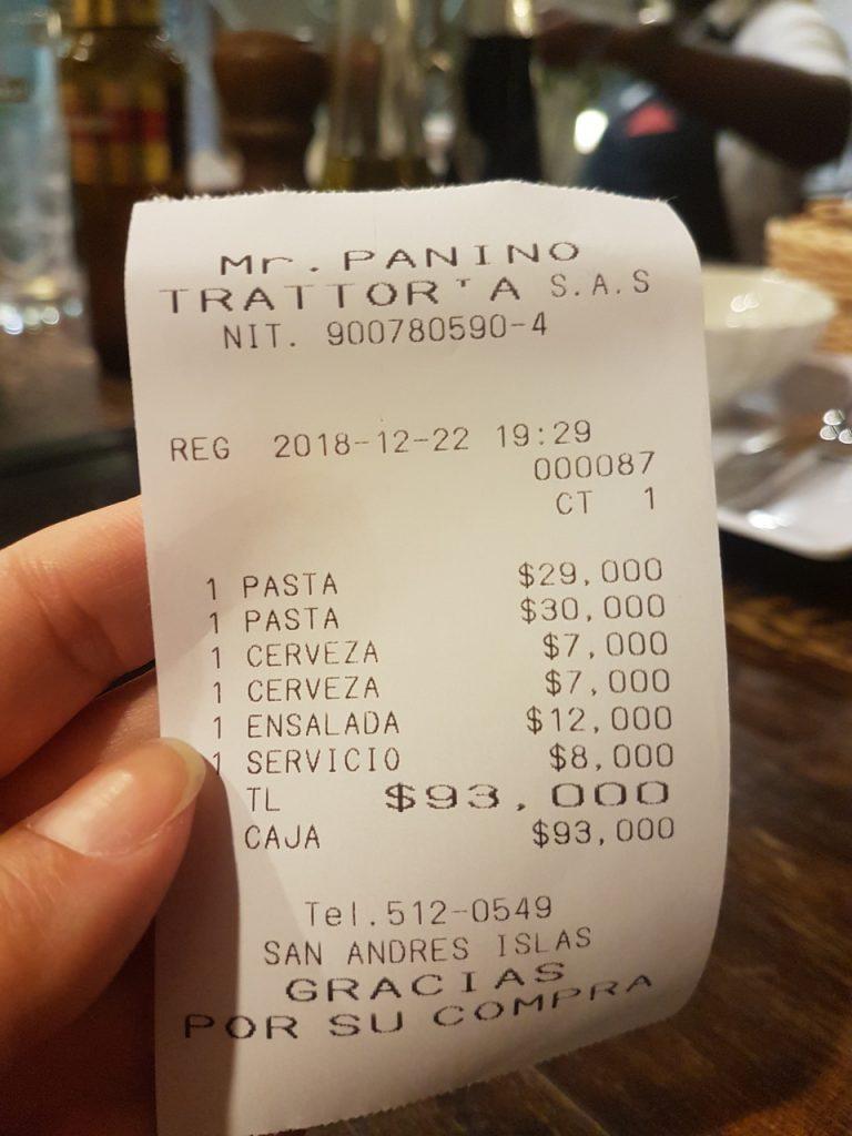 mr papini san andres 768x1024 - Onde Comer Em San Andres? 10 Sugestões Infalíveis De Restaurantes Com Fotos e Valores