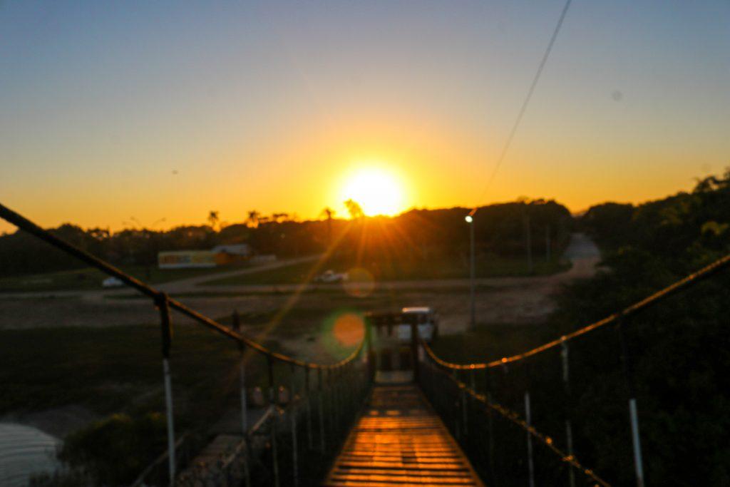 ponte pensil barra velha 1024x683 - Barra Velha Em Santa Catarina - Por que A Ponte Pênsil É Tão Visitada?